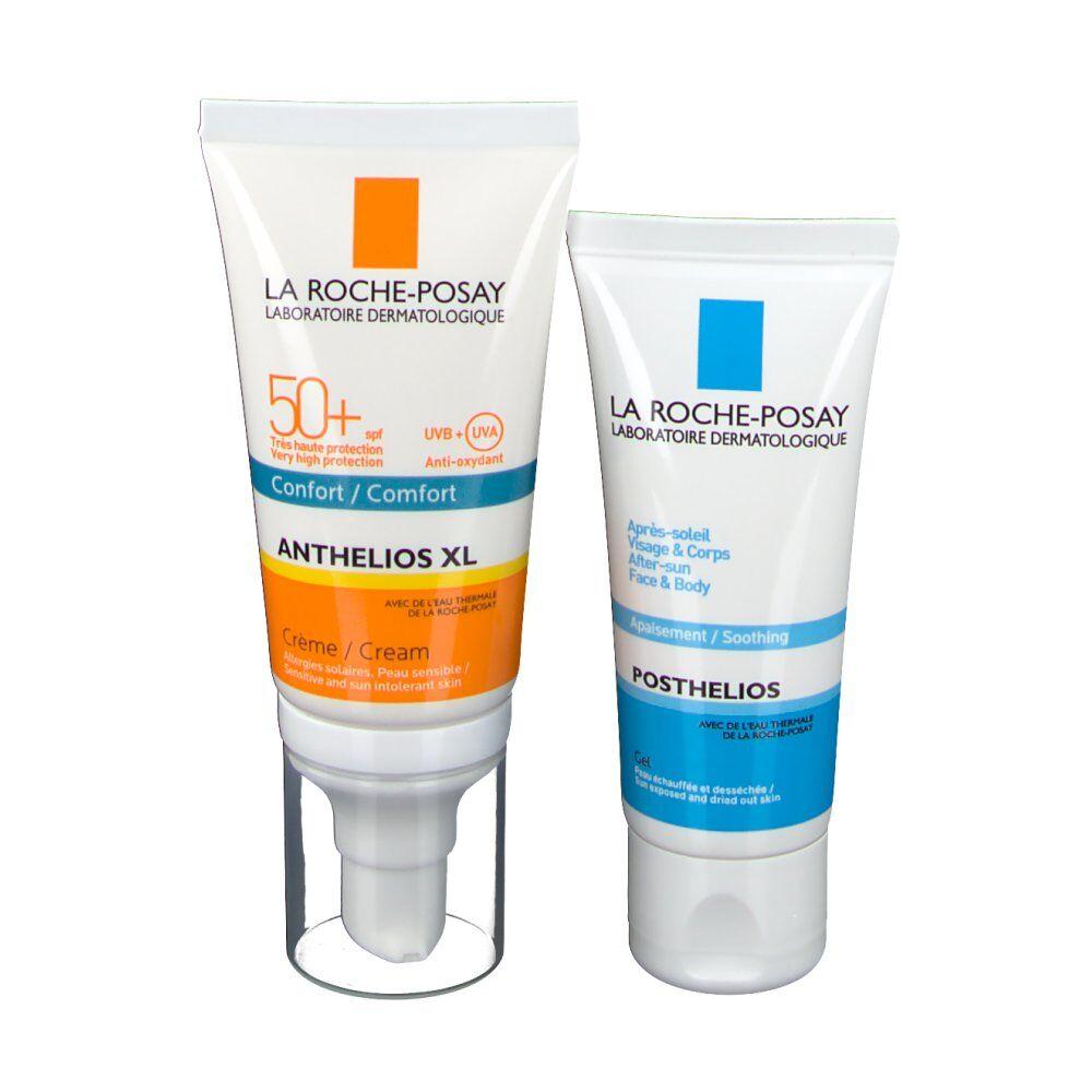 La Roche Posay Anthelios coffret crème avec parfum SPF50+ et Après solaire pc(s) set(s)