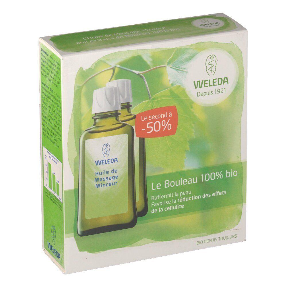 Weleda huile de massage minceur ml huile de massage