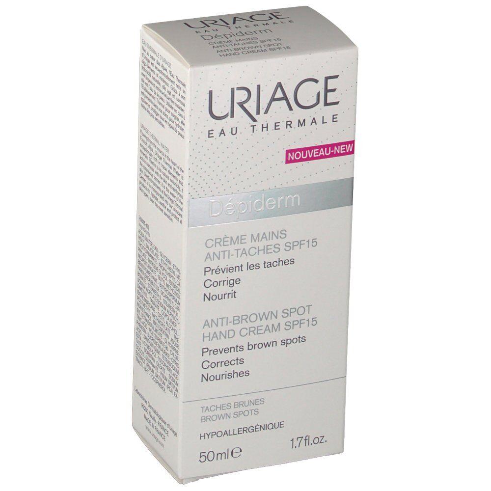 LaboDermatoUriage Uriage® Depiderm Crème Mains Anti-Taches SPF15 ml crème