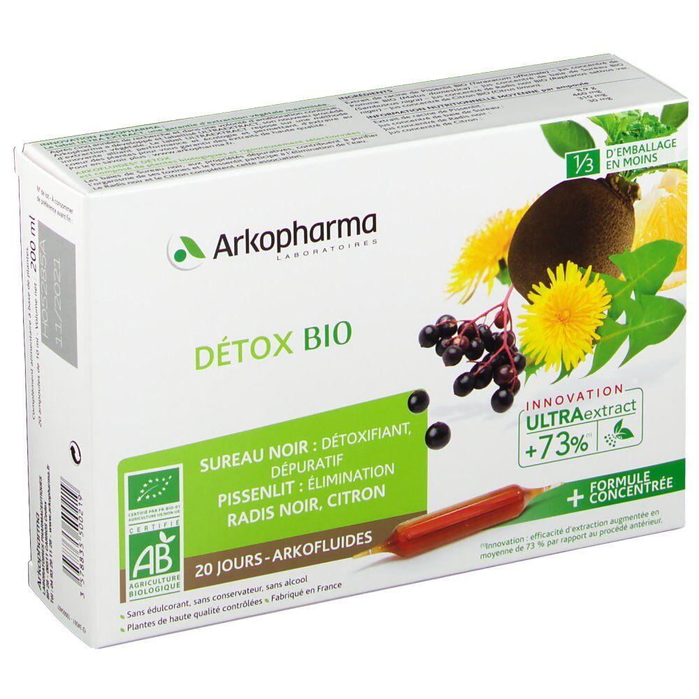 Arkofluides® Détox Bio ml ampoule(s) buvable(s)
