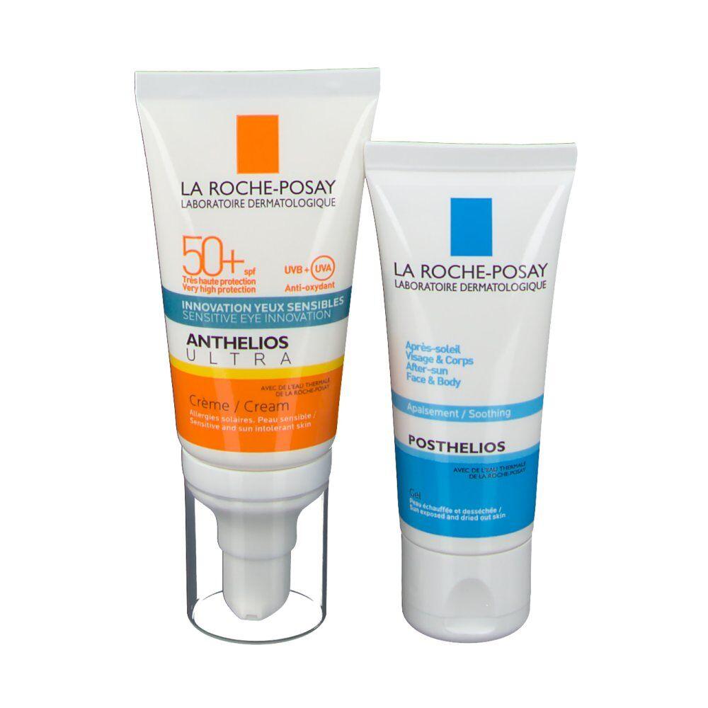La Roche Posay Anthelios Ultra Crème SPF50+ + Posthelios Après-soleil 40 ml Offert ml crème solaire