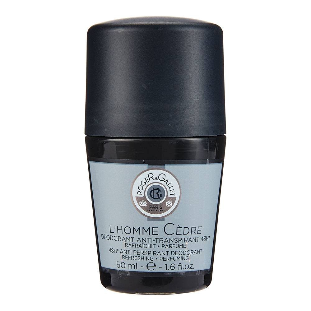 Roger&gallet Roger & Gallet L'Homme Cèdre Déodorant anti-transpirant 48H ml Roller