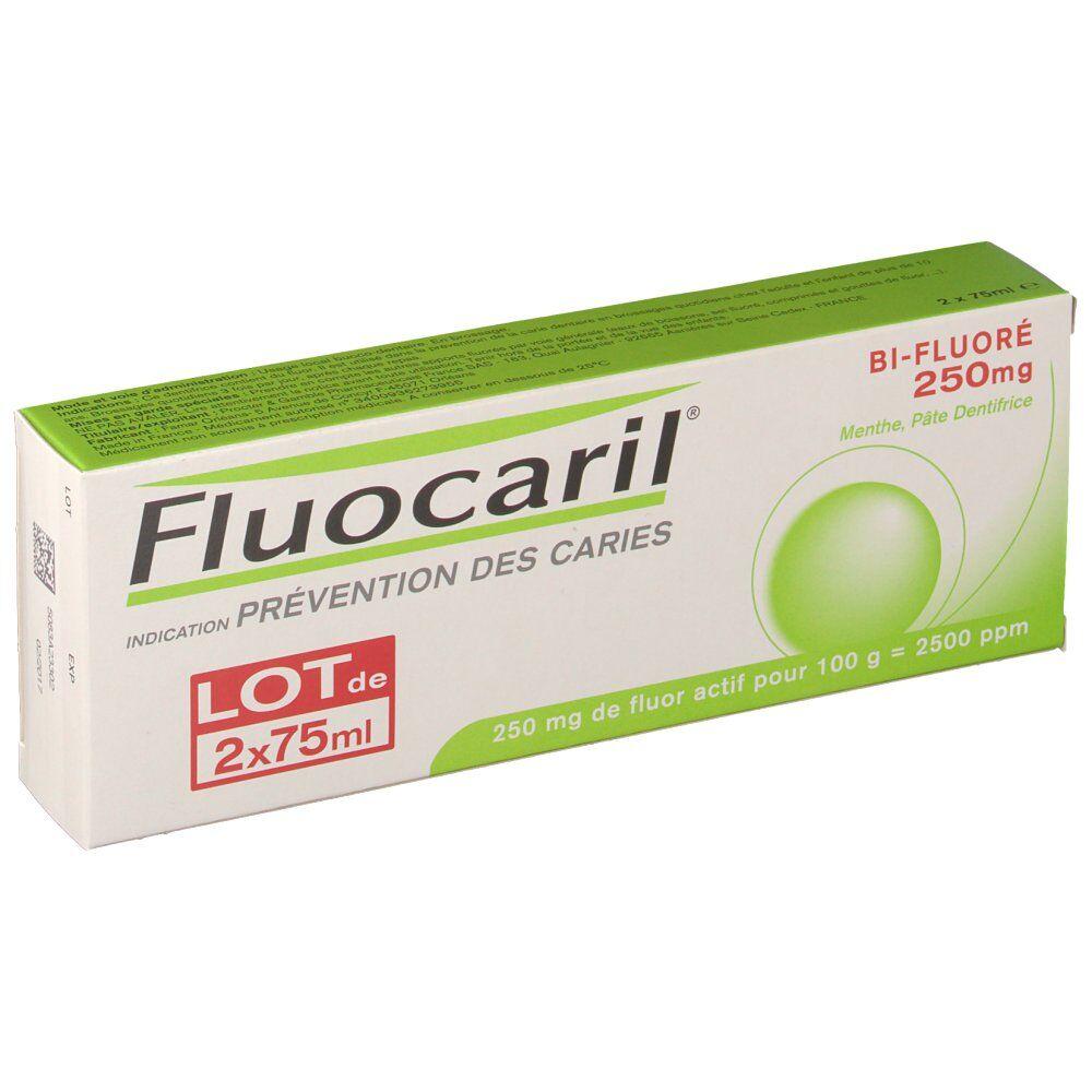 Fluocaril® Fluocaril Bi-Fluoré 250 mg Pâte Dentifrice Menthe ml dentifrice