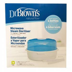 Escos Dr. Brown's® Stérilisateur à vapeur pour micro-ondes pc(s)
