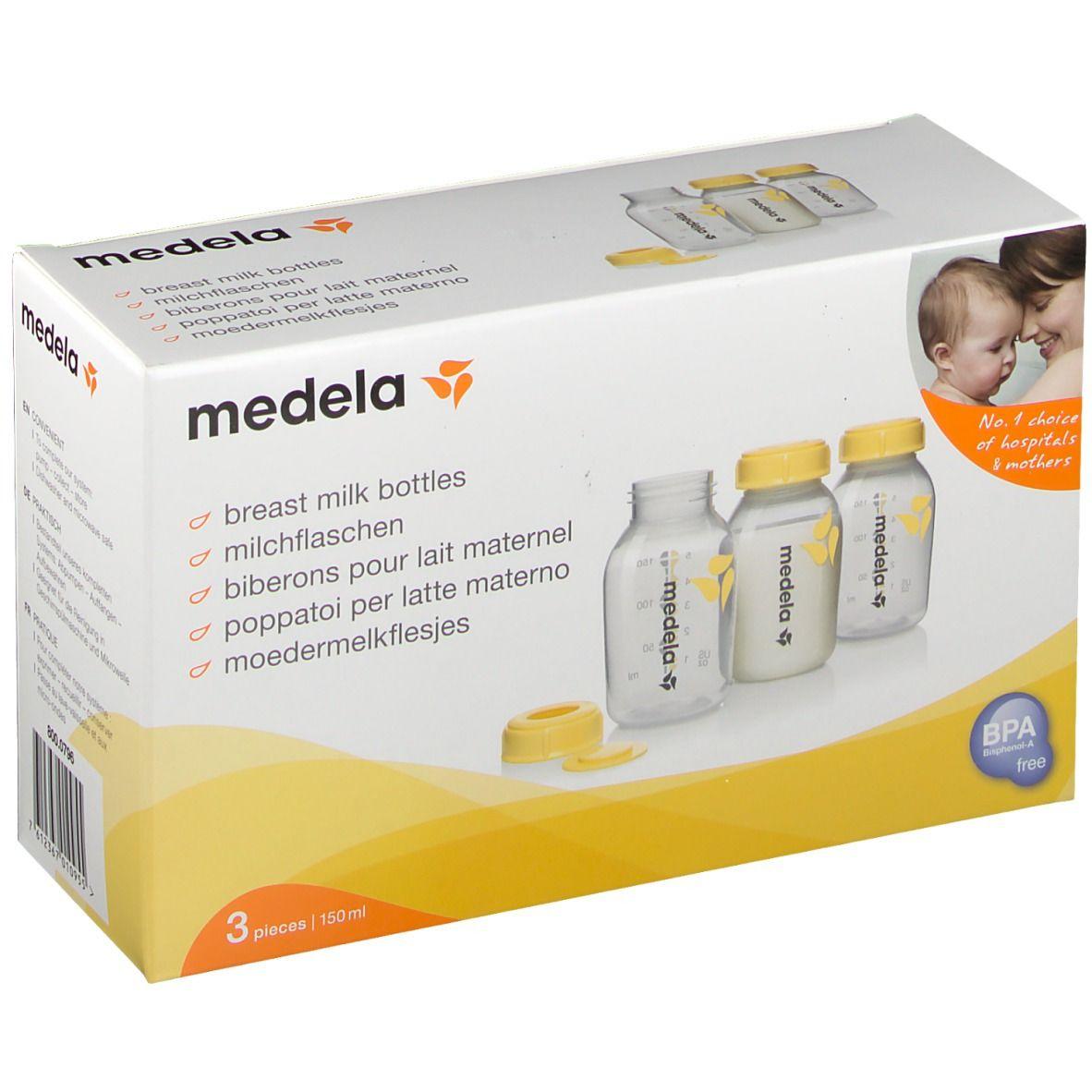 medela® Biberon pour lait maternel 3 x 150 ml pc(s) Bouteilles