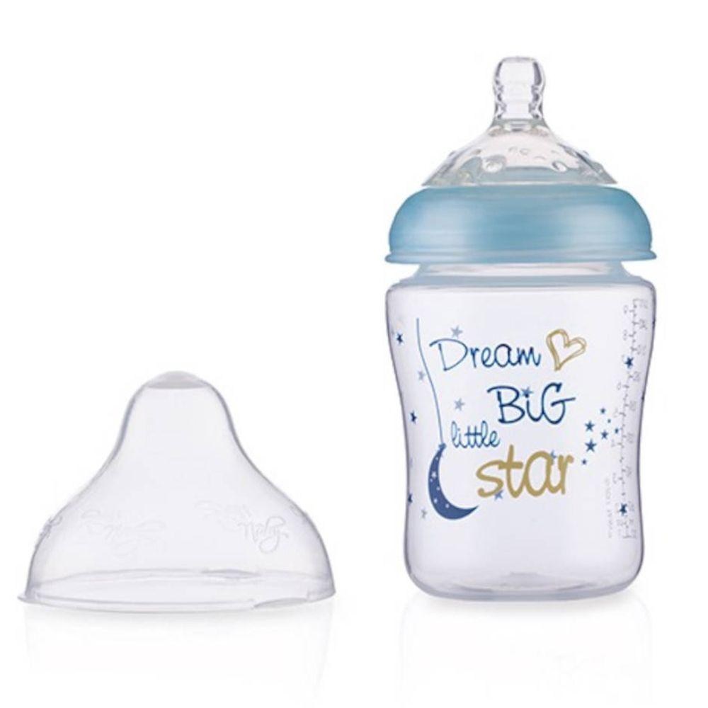 Nûby™ Nuby™ Biberon Little Moments Blau 0+ mois 270 ml pc(s) Bouteilles