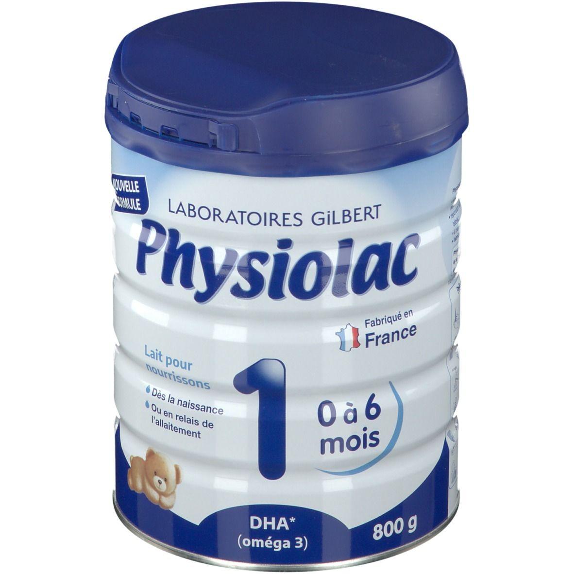 Physiolac 1, Lait pour nourrisson 1er âge g poudre