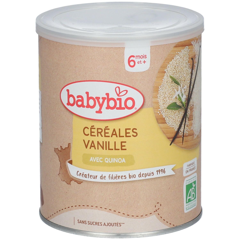 Babybio Céréales vanille bio dès 6 mois g poudre