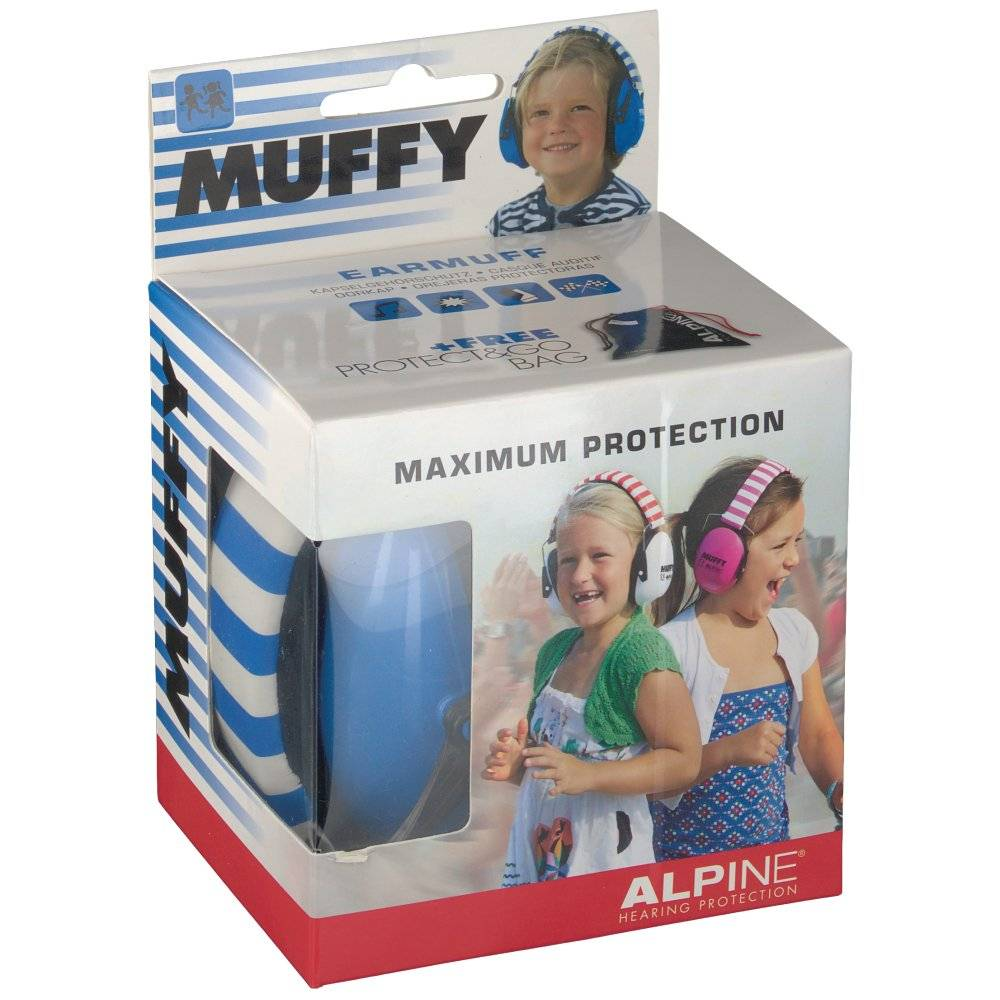 Energetic Food & Supplements Alpine® Muffy Kids Casque anti-bruit Bleu 1 pc(s) 8717154022780