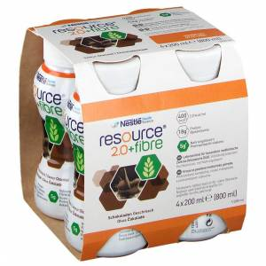 Resource® Nestlé Resource® 2.0+ Fibre Saveur chocolat ml solution(s) buvable(s) - Publicité