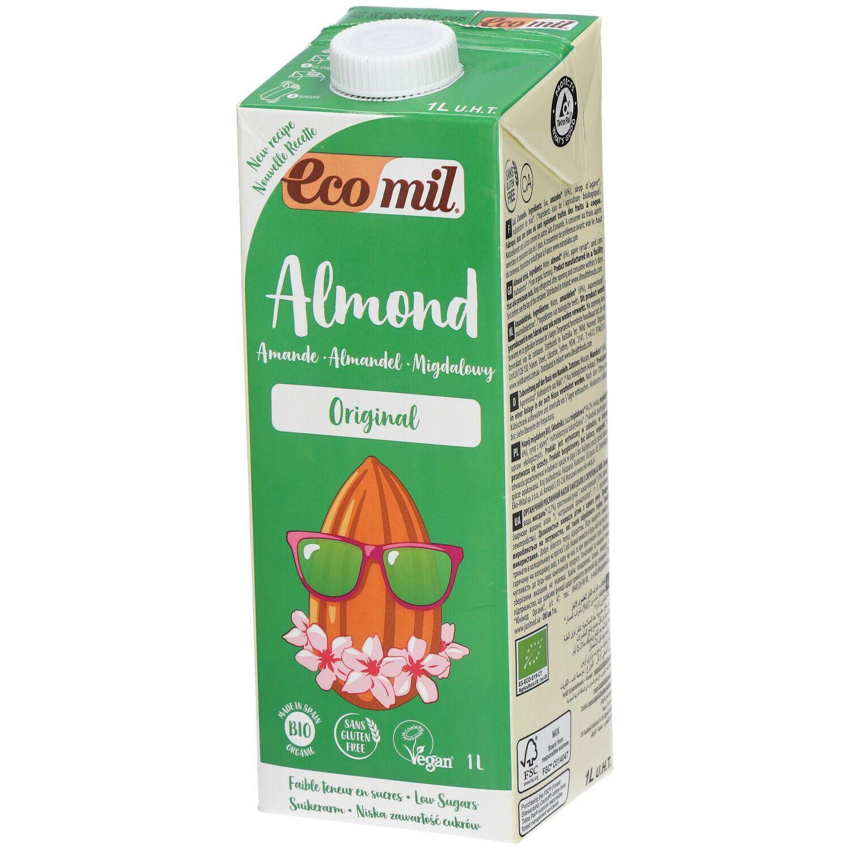 EcoMil® Lait d'amande Original Bio l solution(s) buvable(s)