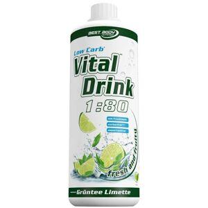 Best Body Nutrition® Best Body Nutrition Low Carb Vital Drink thé vert-limette ml fluide - Publicité