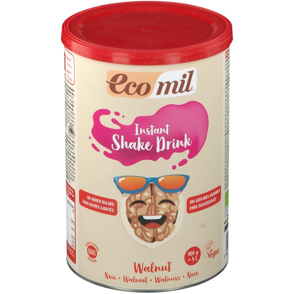 Ecomil Boisson aux noix sans sucres ajoutés Instant Bio g poudre