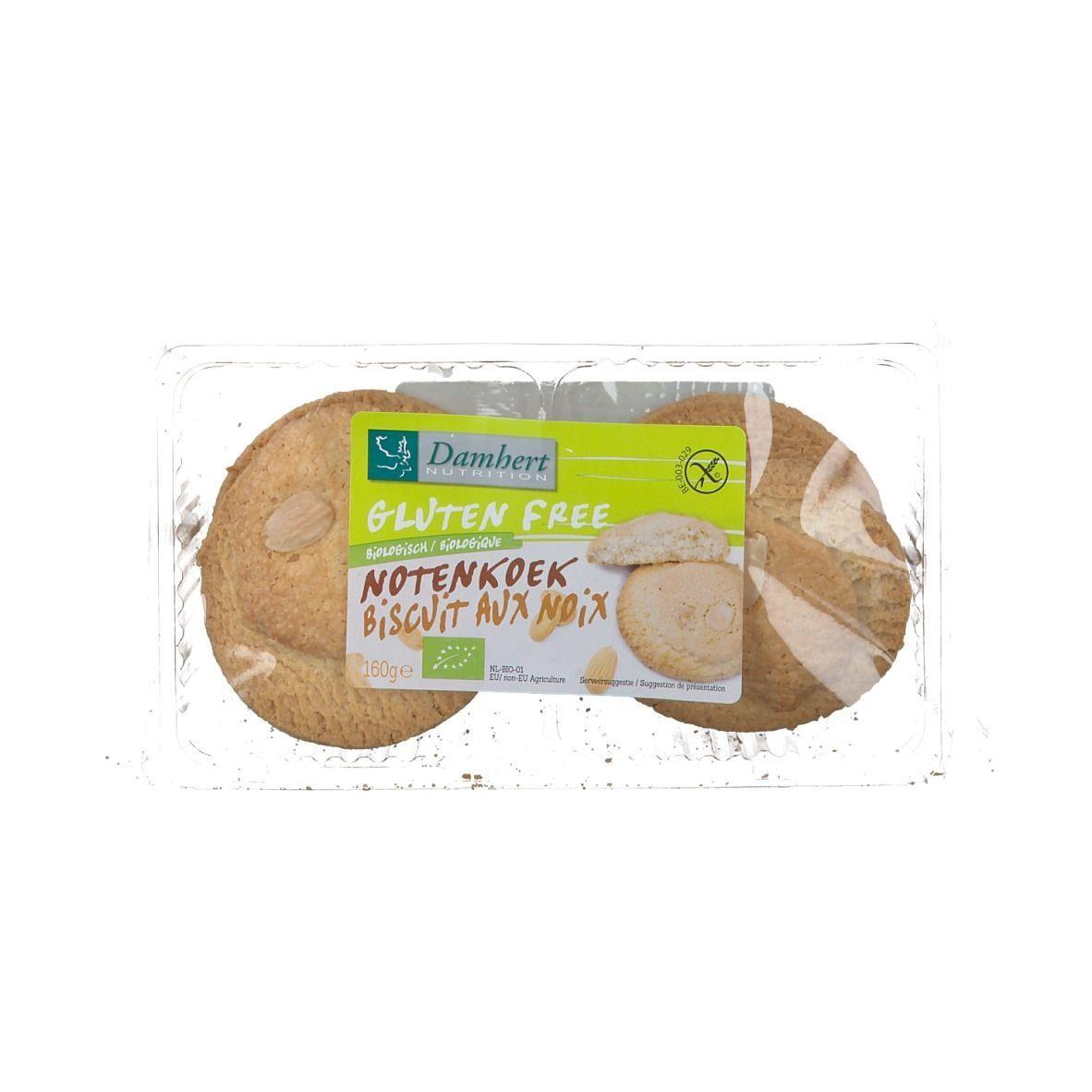 Damhert Biscuits Aux Noix Sans Gluten g Cookies