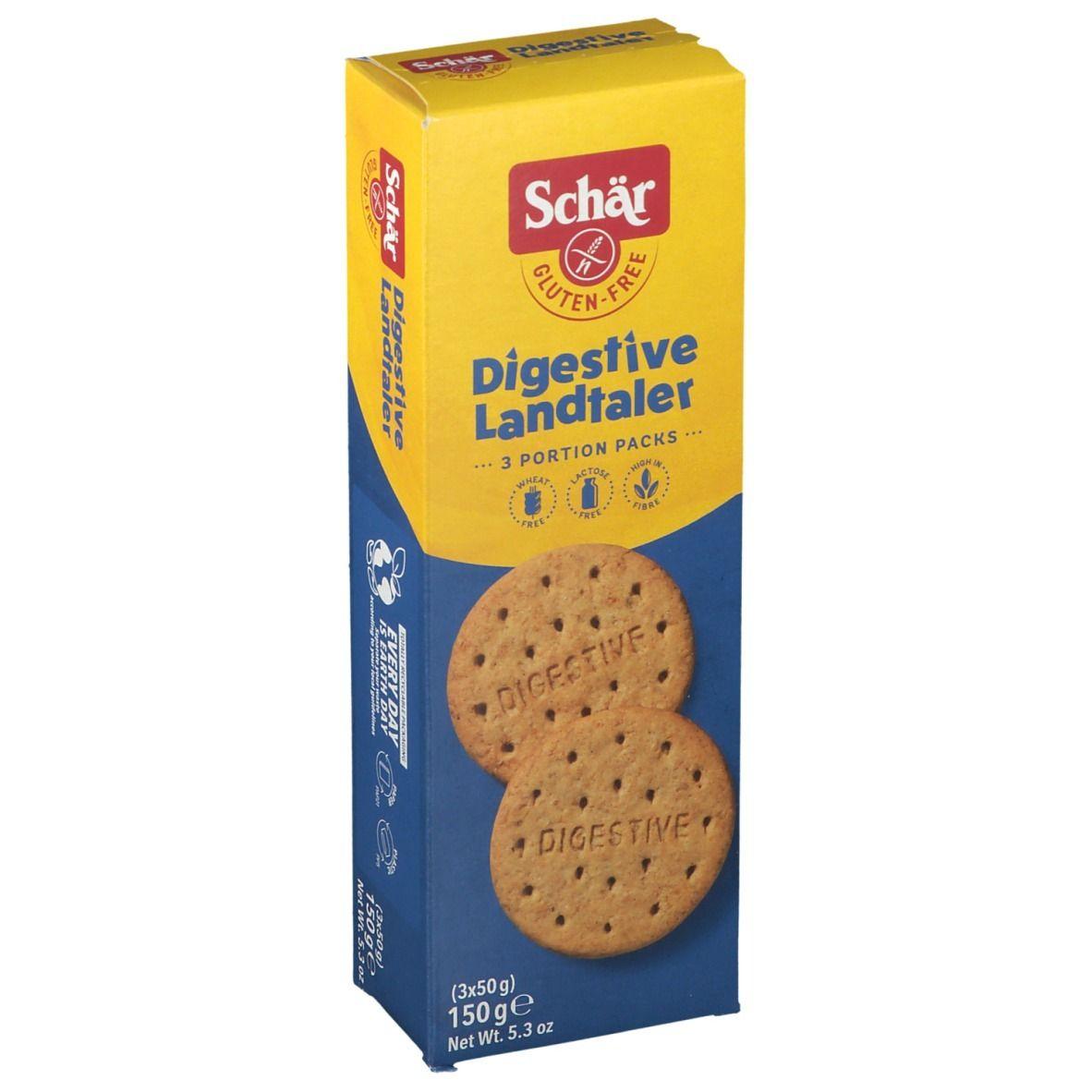Schär Digestive Biscuits Sans Gluten g Cookies