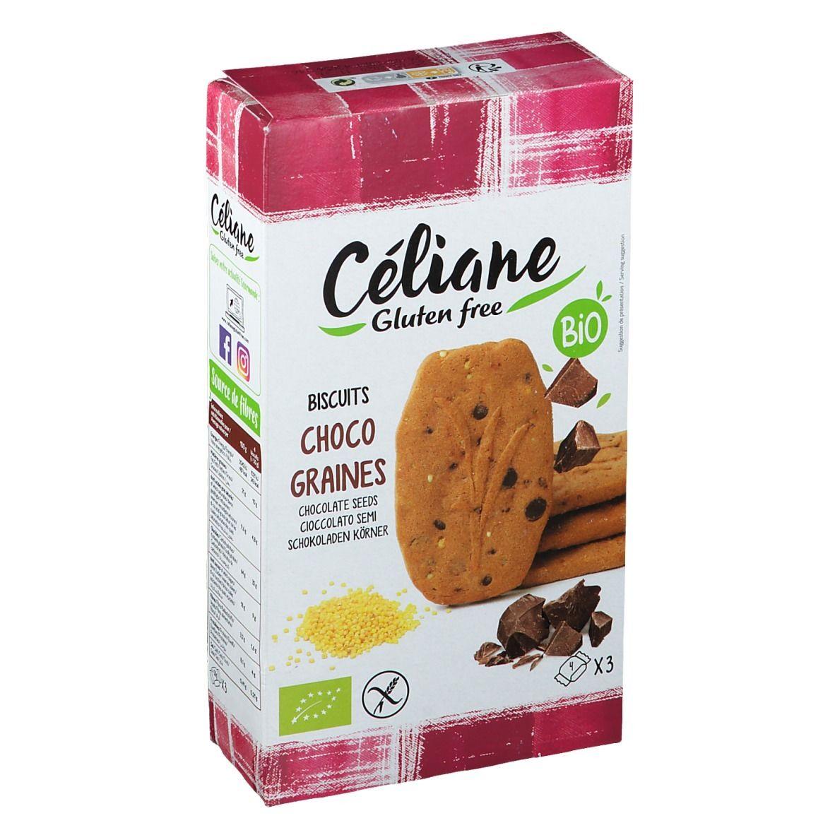 Les Préparations de Céliane® Céliane Gluten free Biscuits Choco graines pc(s)