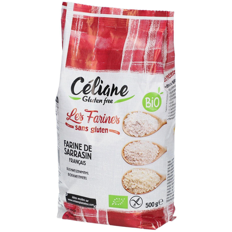Les Préparations de Céliane® Celiane Farine De Sarrasin Bio g poudre