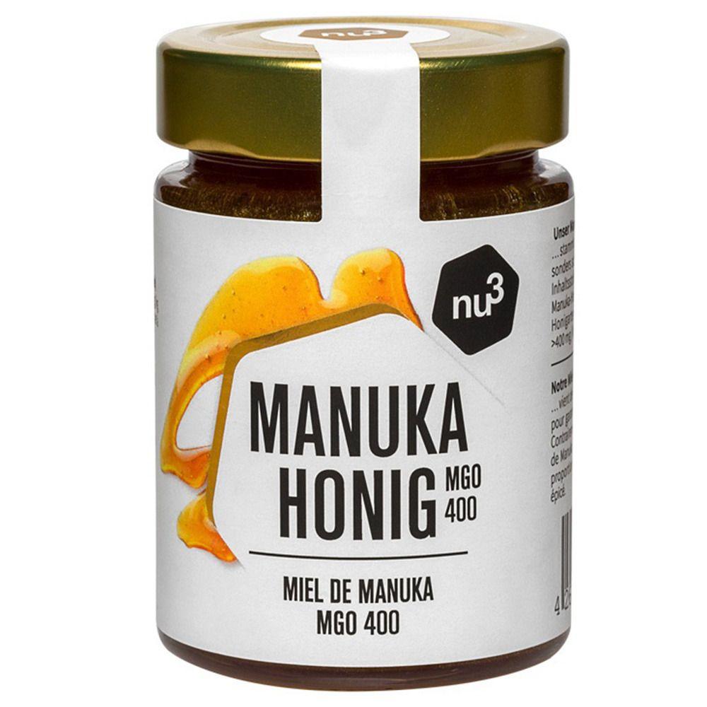 nu3 Miel de Manuka MGO 400 g crème