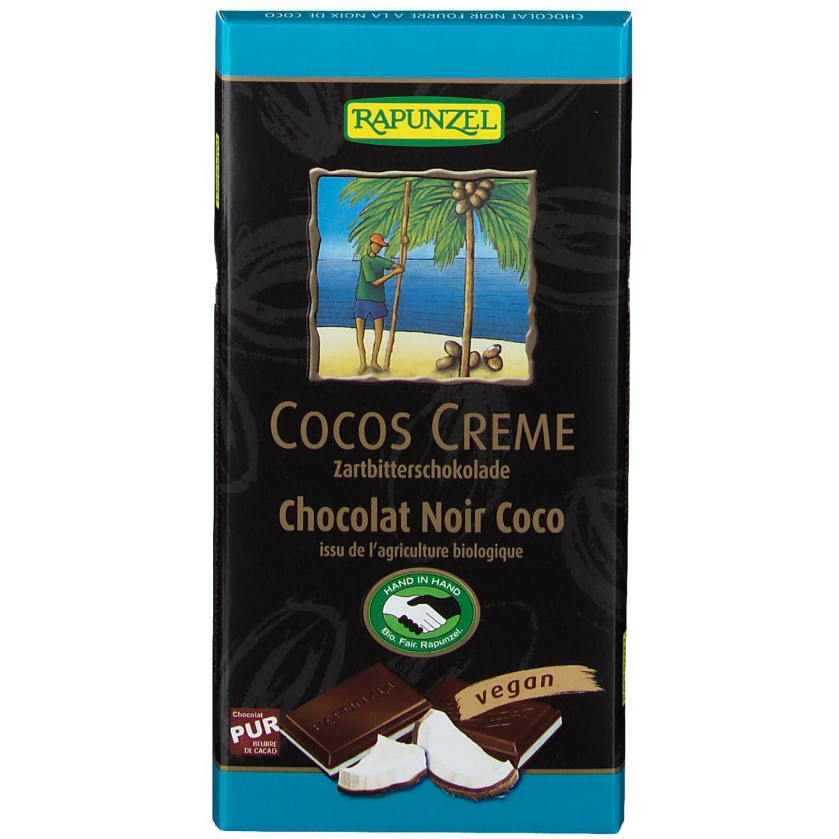 RAPUNZEL Chocolat Noir Coco g crème