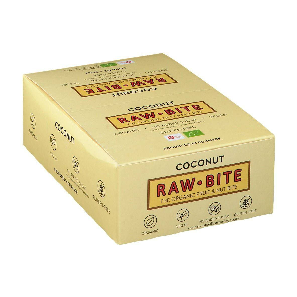 Rawbite RAW BITE Bio Barres Noix de coco g barre(s)