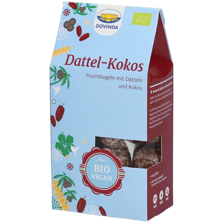 Govinda Boules Dattes-noix de coco g Fruits