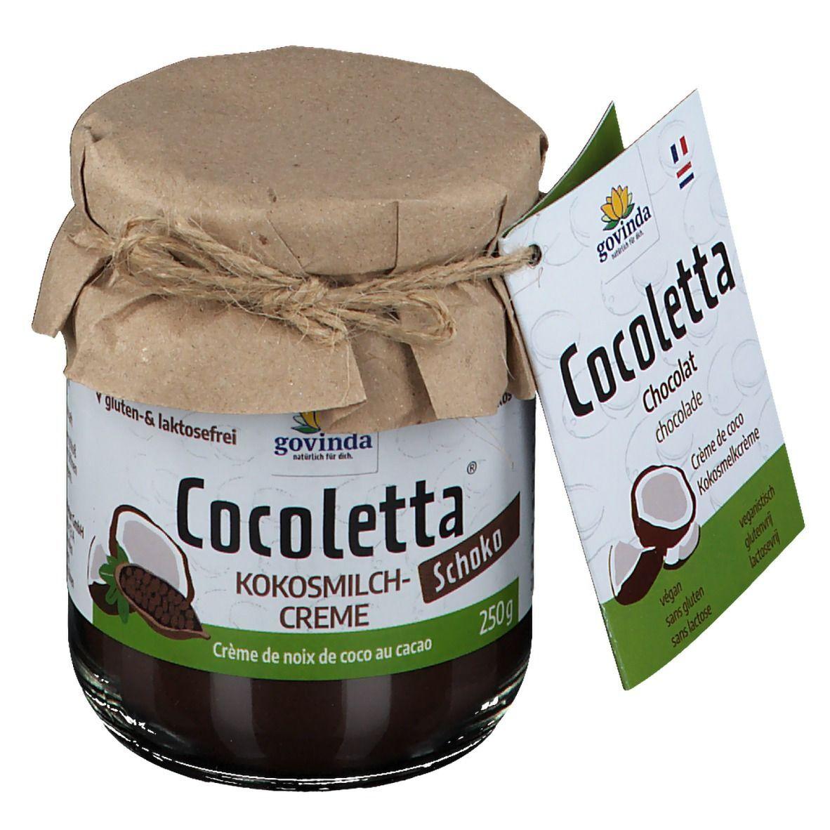 Govinda Cocoletta Crème de lait de coco Bio - chocolat g crème
