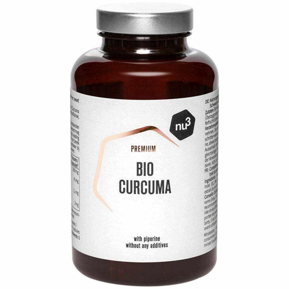 nu3 Curcuma bio 200 gélules pc(s) capsule(s)