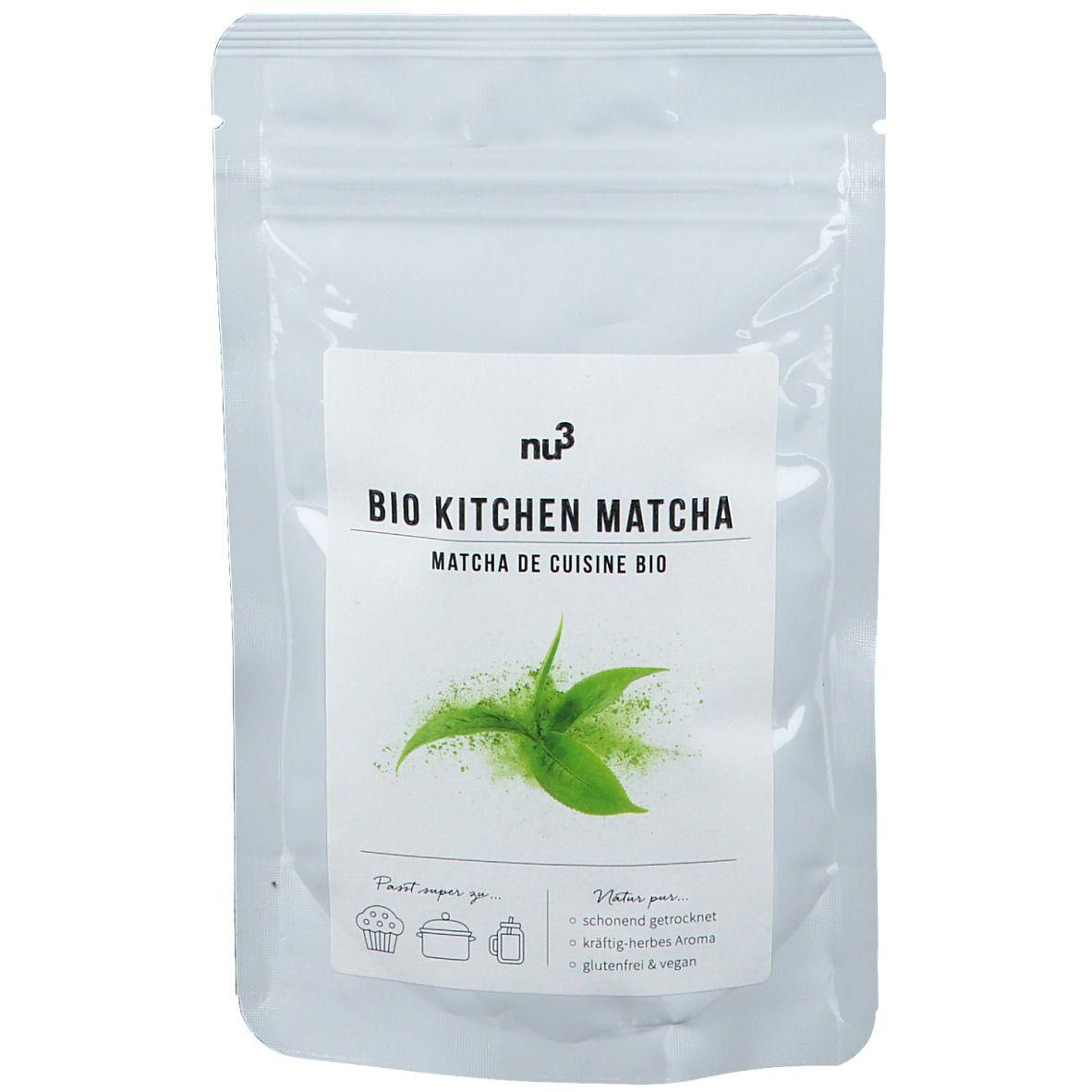 nu3 Kitchen Matcha bio g poudre