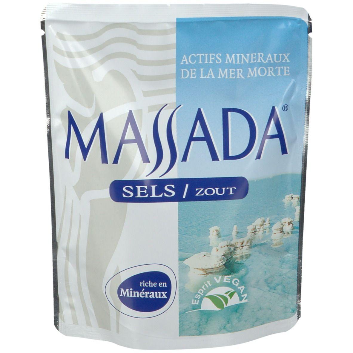 Massada® Sels Mer Morte g sel de bain