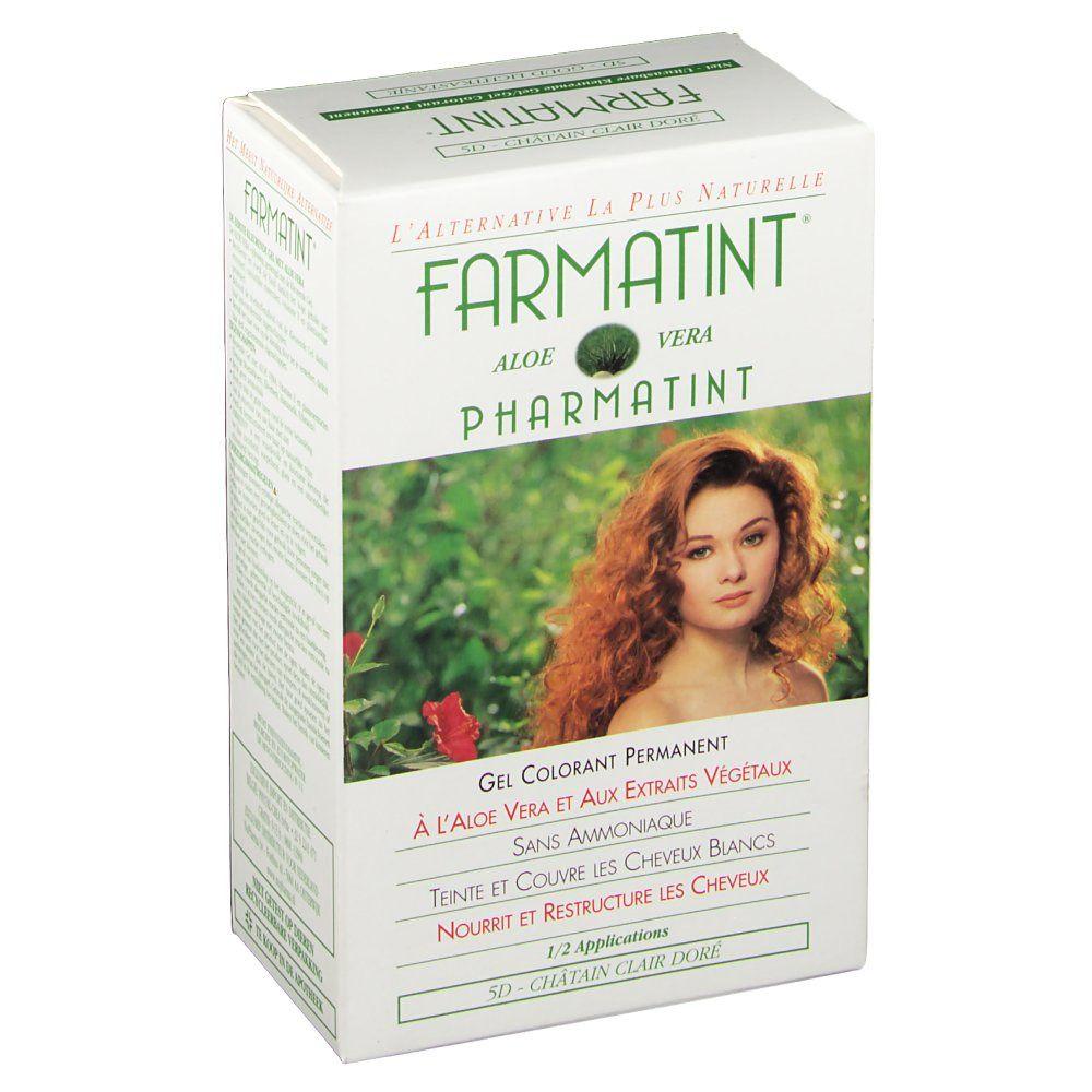 FARMATINT Gel Colorant Permanent Châtain Clair Doré 5D ml solution(s)