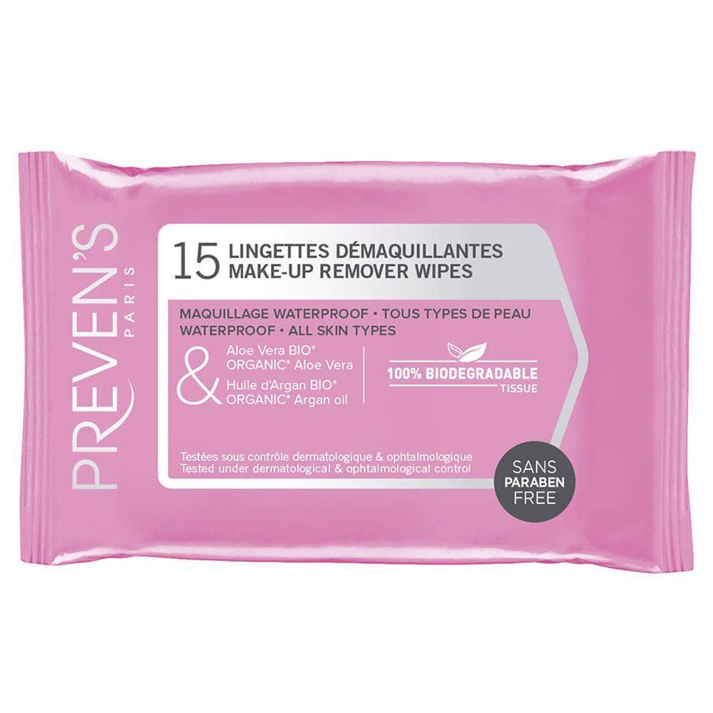 Preven'S Preven's Lingettes Démaquillantes Nettoyantes pc(s) lingette(s)