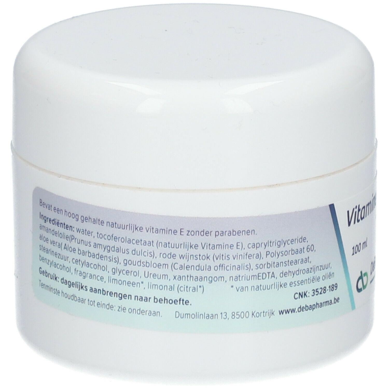 DeBa Pharma DeBa Vitamine E Crème ml crème