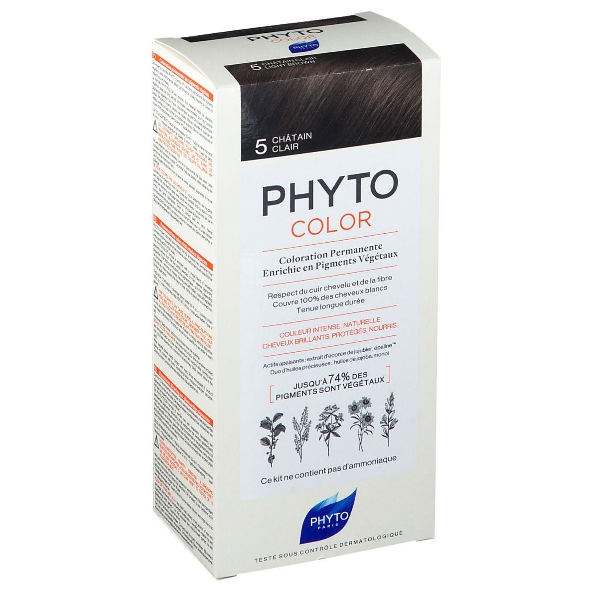 PHYTOCOLOR 5 Châtain clair pc(s) crème