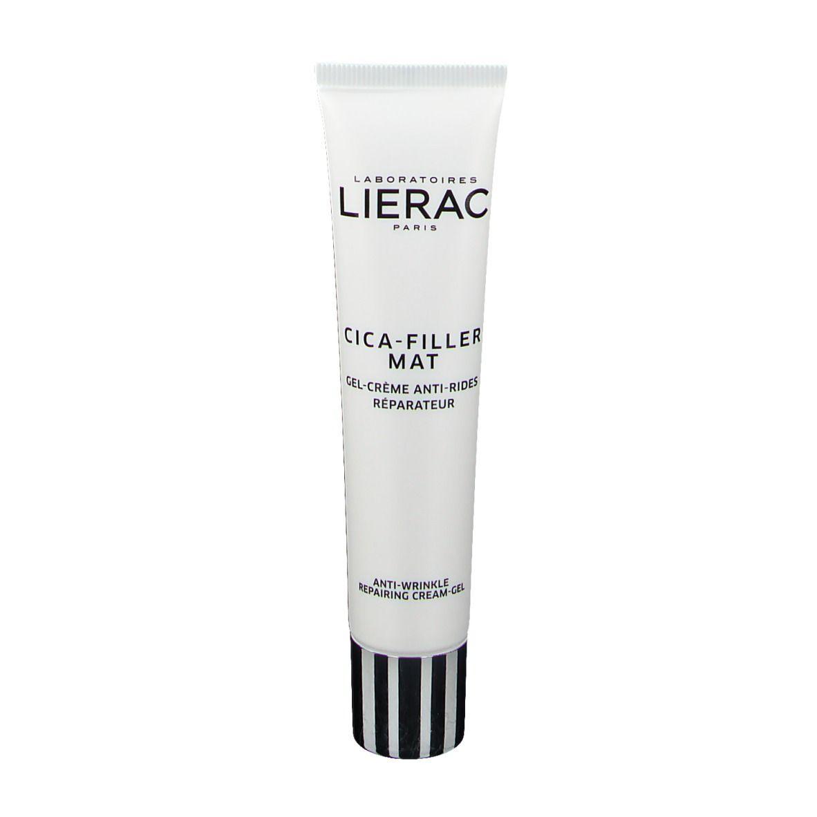 Lierac CICA-FILLER MAT Gel-Crème Anti-Rides Réparateur ml crème