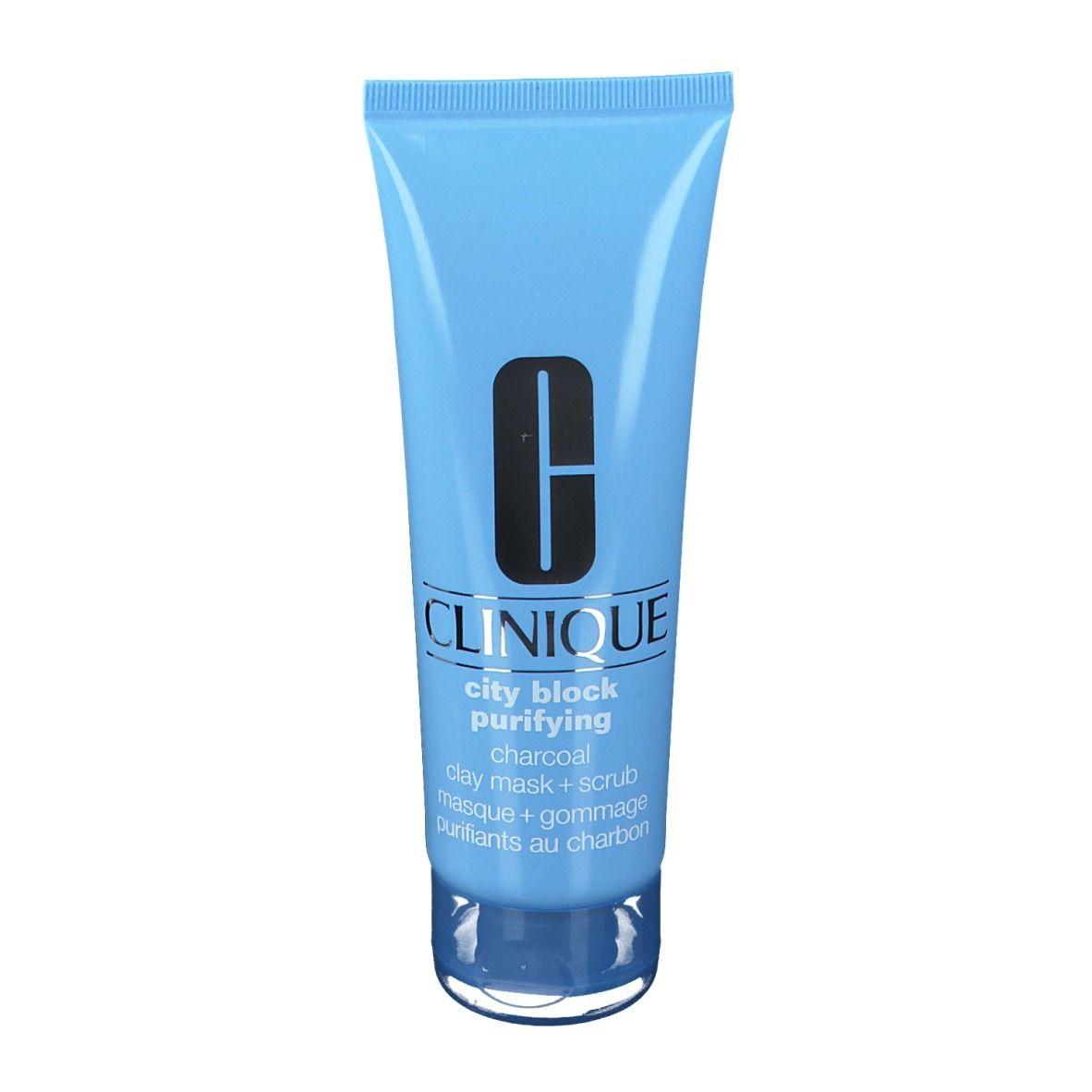 CLINIQUE City Block Purifying™ Masque + Gommage purifiant au charbon ml masque(s) pour le visage