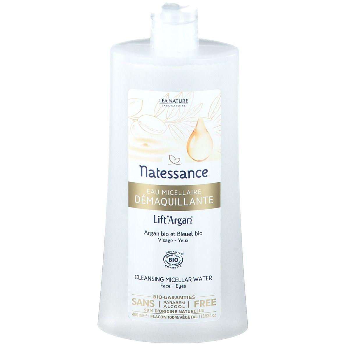 Lift'Argan® Lift Argan® Eau démaquillante micellaire visage et yeux bio ml eau pour le visage