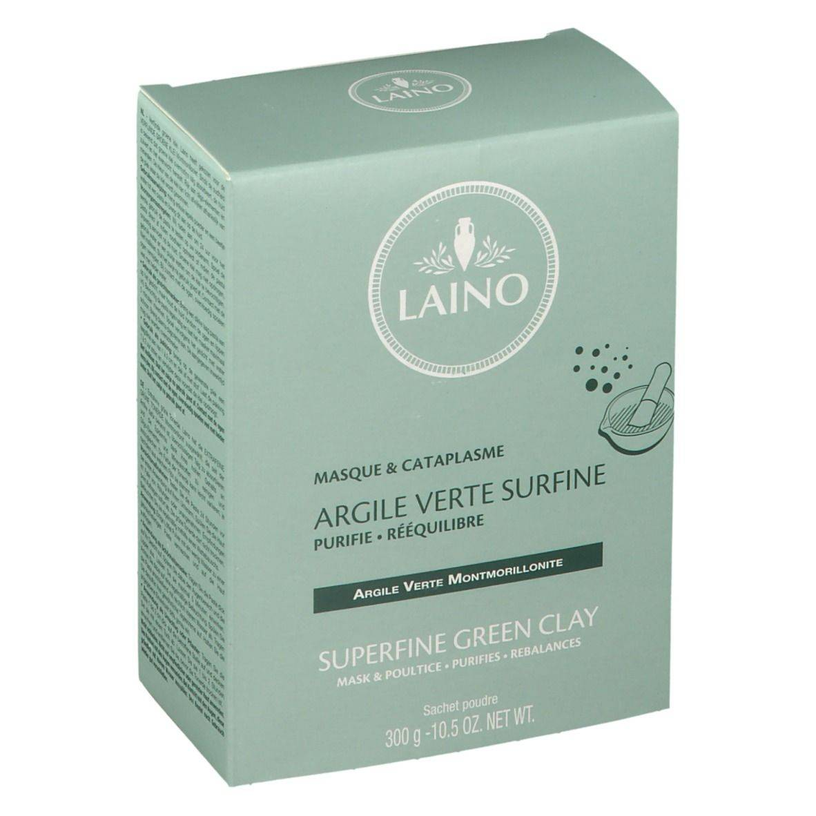 Laino Argile verte poudre surfine g masque(s) pour le visage