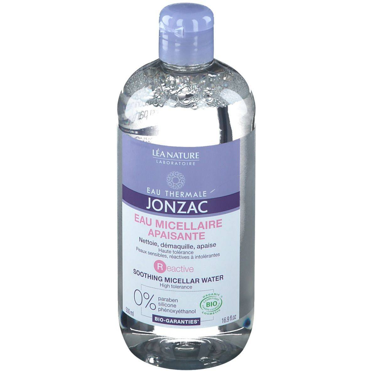 Eau Thermale Jonzac® Eau Thermale Jonzac Eau micellaire apaisante ml eau pour le visage