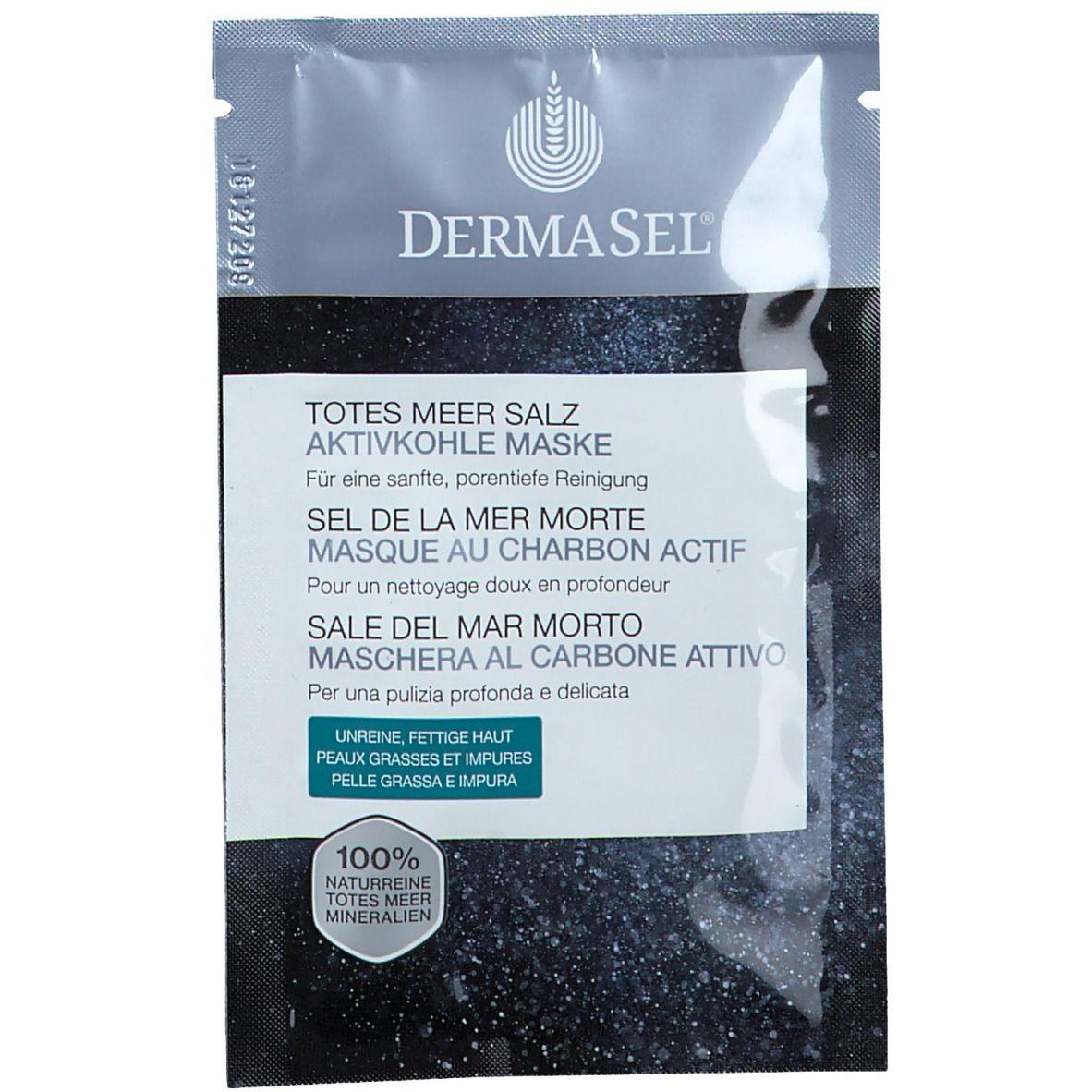 DermaSel® Masque au charbon actif ml masque(s) pour le visage