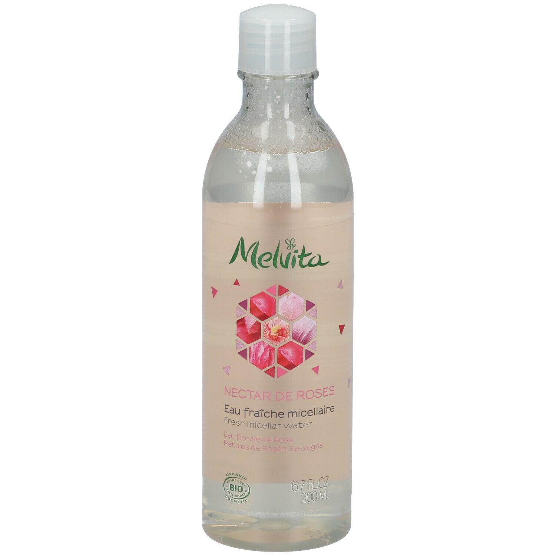 Melvita Nectar de Roses Eau Micellaire à la Rose Bio ml eau pour le visage