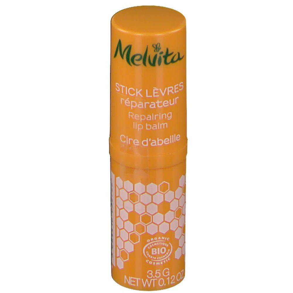 Melvita Nectar de Miels Stick Lèvres au Miel Bio g rouge(s) à lèvres