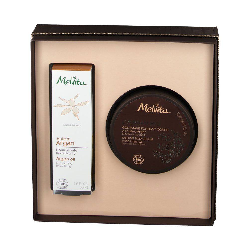 Melvita Coffret L' Argan Bio ml set(s)