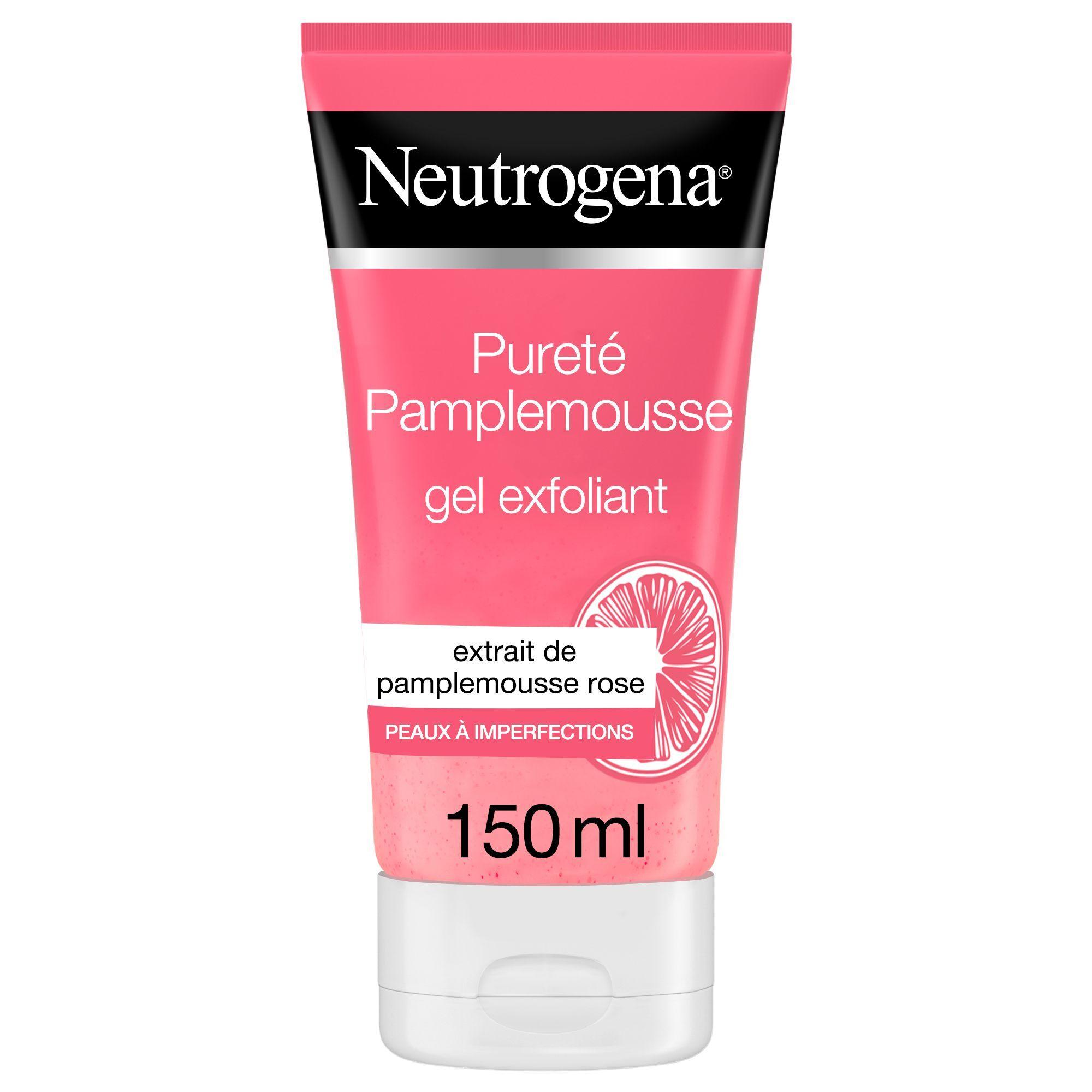 Neutrogena® Neutrogena Gel Exfoliant au Pamplemousse Rose, Anti-Imperfections, Peaux normales à grasses - Tube 150 ml ml gel(s)