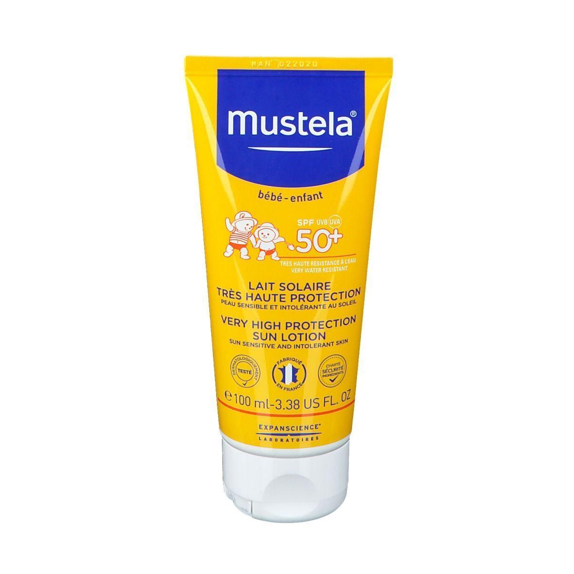 Mustela® Bébé Lait solaire SPF50+ ml lait