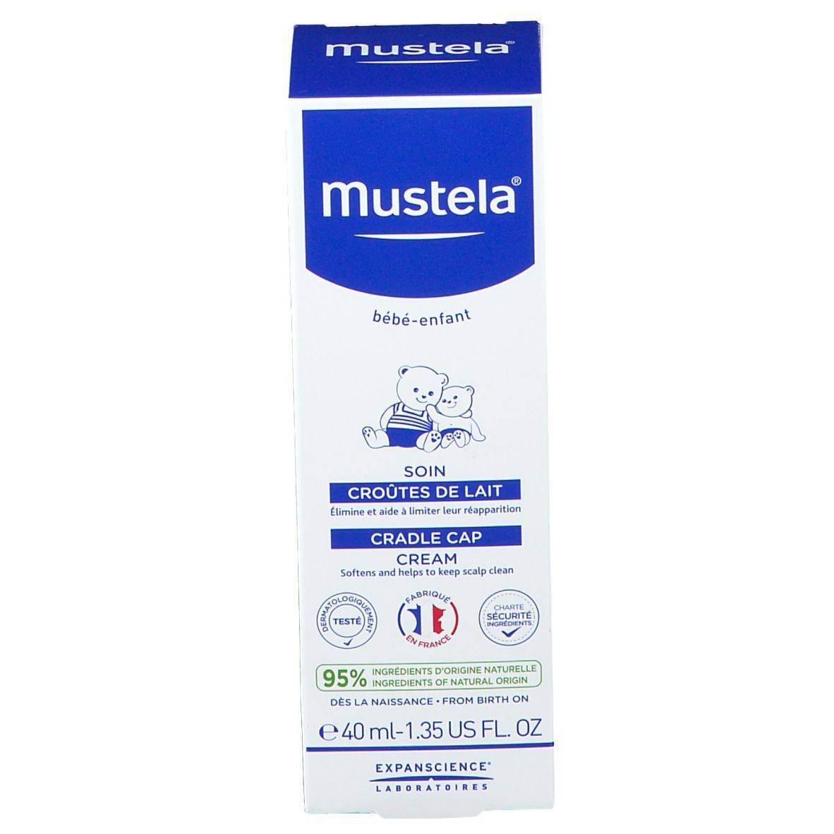 mustela® Bébé Enfant Soin Croûtes de Lait ml crème