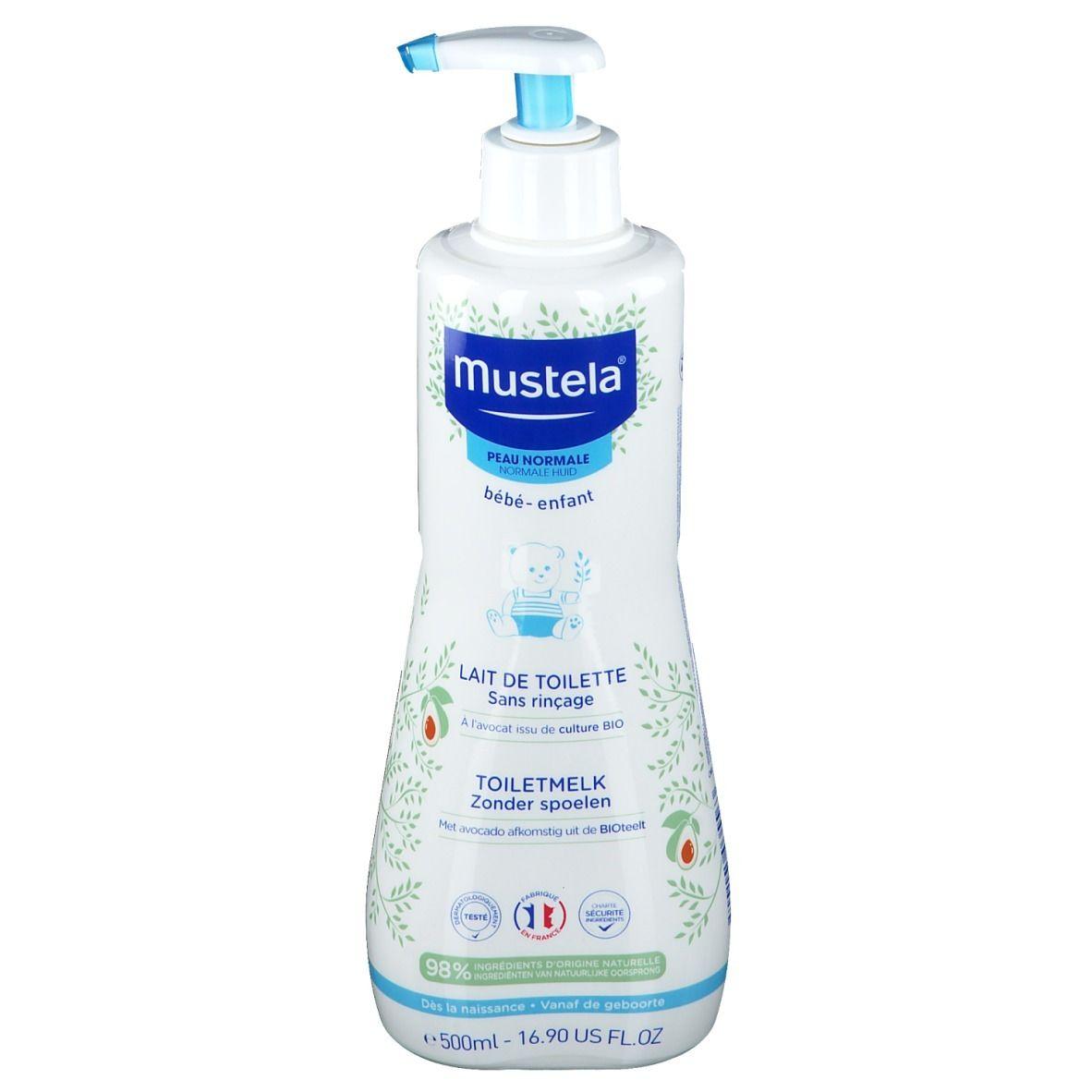 mustela® Lait de toilette sans rinçage à l'avocat Bio ml lait