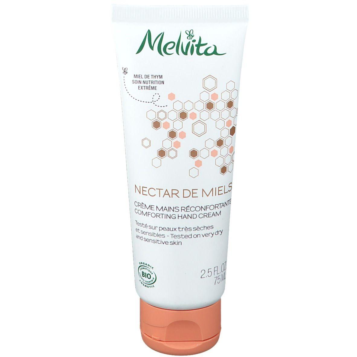 Melvita Nectar de Miels Crème Mains au Miel Bio ml crème