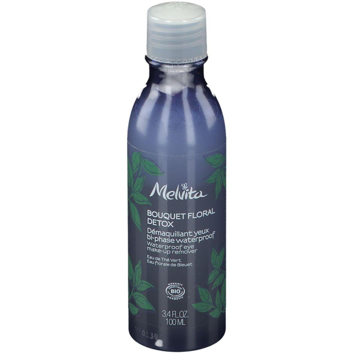 Melvita Bouquet Floral Detox - Démaquillant Yeux Bi-Phase Waterproof Bio ml produit(s) démaquillant(s)