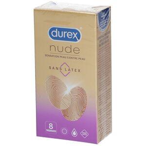 Durex Nude Sans Latex Sensation Peau contre Peau pc(s) préservatif(s) - Publicité