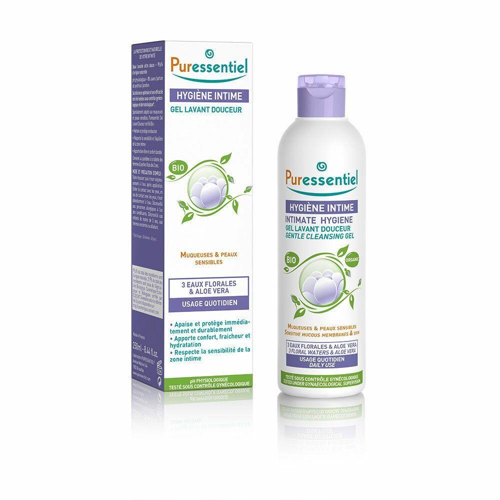 Puressentiel hygiène intime gel lavant bio ml gel nettoyant